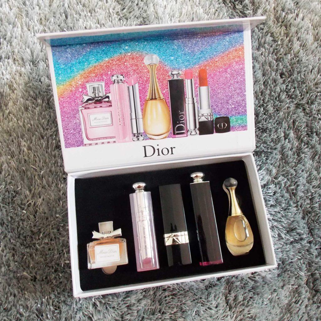 Set nước hoa Dior 5 món có son môi
