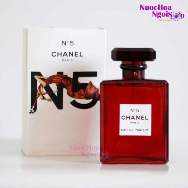 Nước hoa nữ Chanel N5 đỏ 100ml