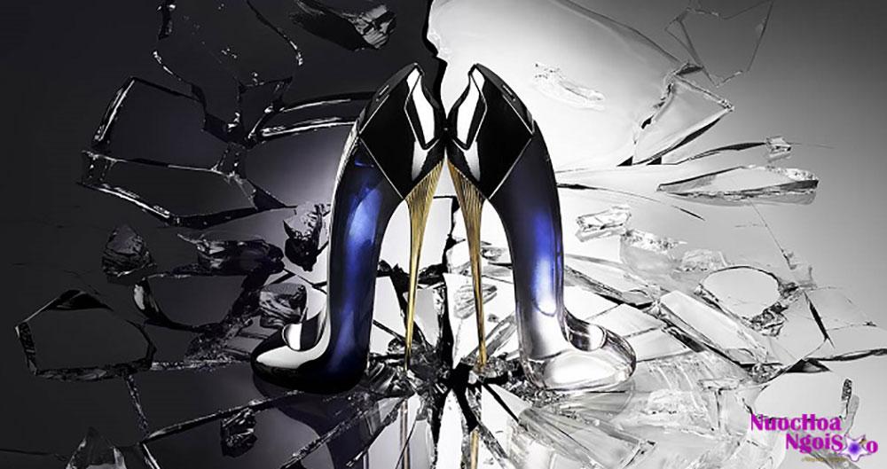 Good Girl – chai nước hoa hình chiếc giày cao gót có thiết kế cám dỗ nhất của năm
