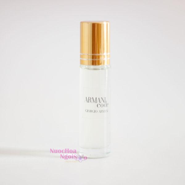 Tinh dầu nước hoa Armani Code 10ml