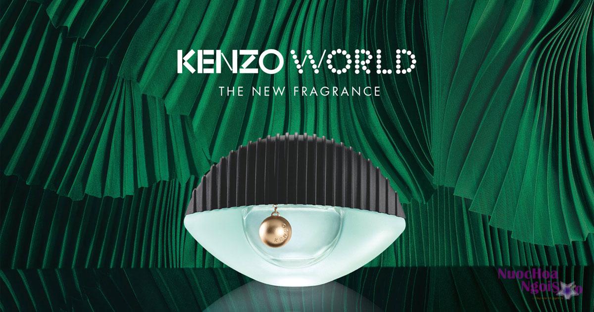 Nước hoa mang nhãn hiệu Kenzo thuộc nhóm hương hoa cỏ Gỗ - Xạ hương