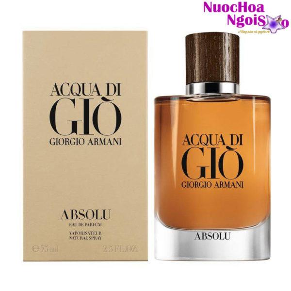 Nước hoa nam Giorgio Armani Acqua di Gio Absolu