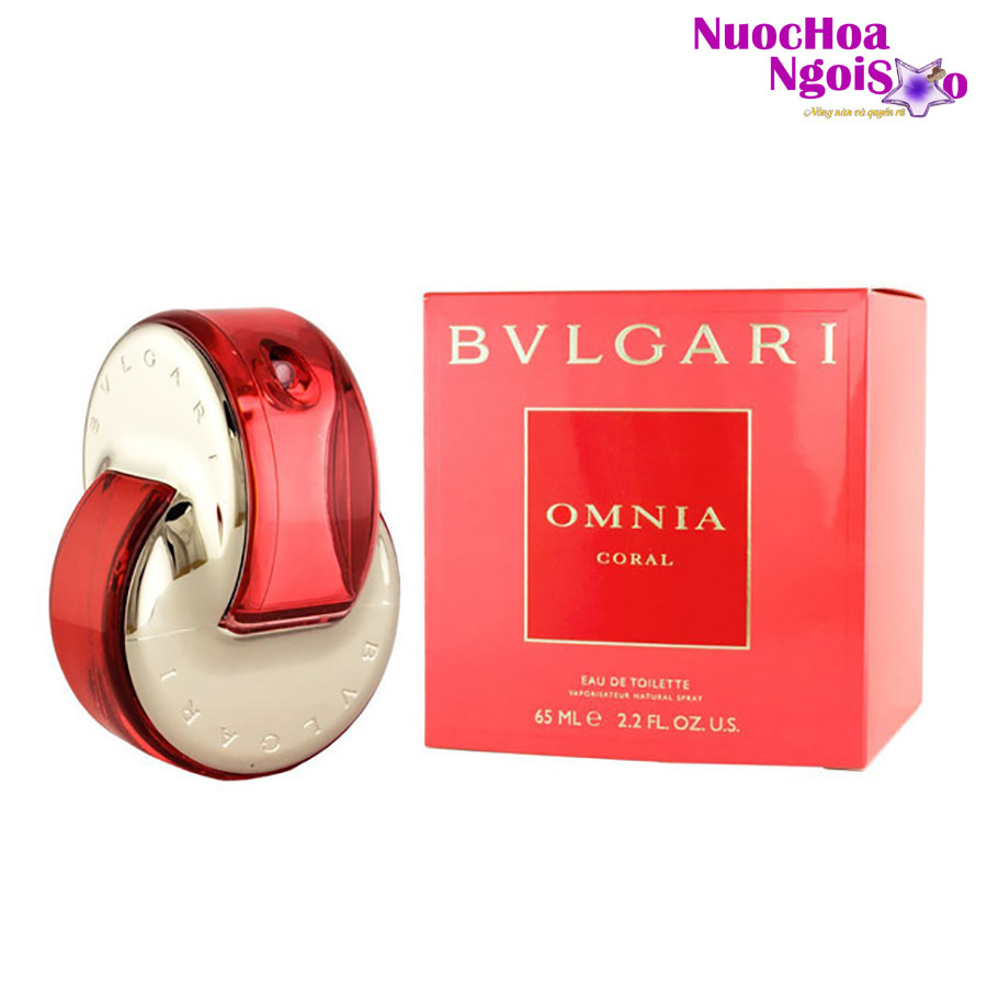 Nước hoa nữ Omnia Coral BVLGARI