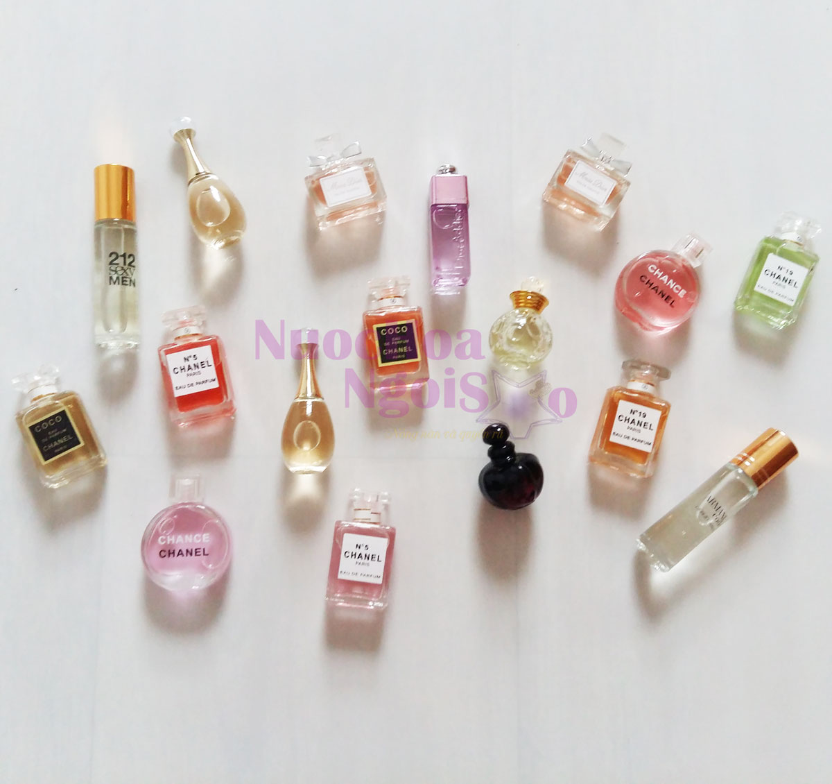 Nước hoa mini nam nữ - Shop nước hoa Ngôi sao