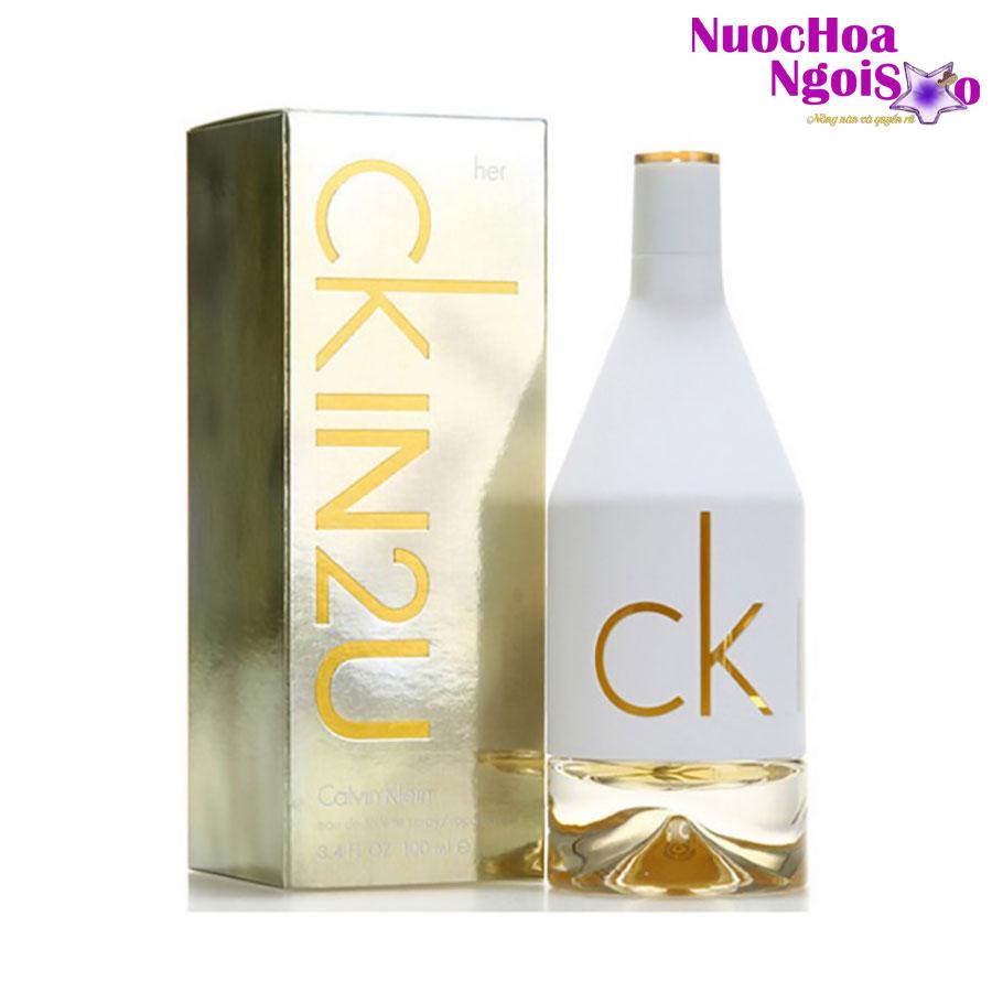 Nước hoa nữ CK IN2U for Her của hãng CALVIN KLEIN
