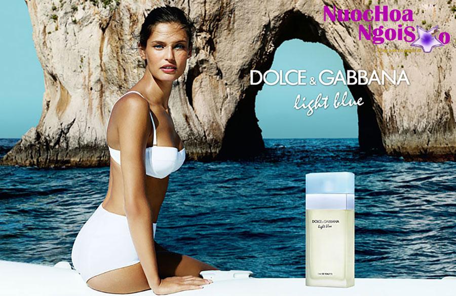 Nước hoa nữ D&G Light Blue của hãng DOLCE&GABBANA