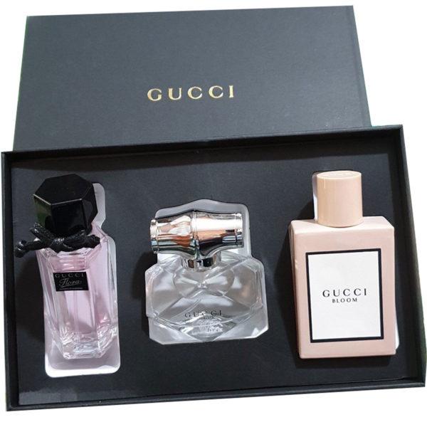 Set 3 chai nước hoa nữ Gucci