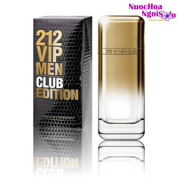 Nước hoa nam 212 Vip Men Club Edition