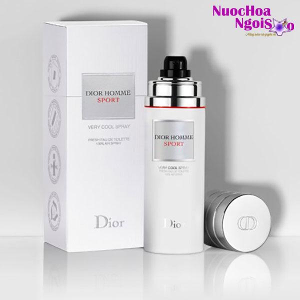 Nước hoa nam Dior Homme Sport Very Cool Spray của hãng CHRISTIAN DIOR