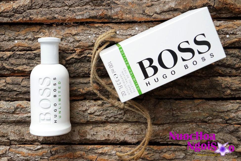 Nước hoa nam Boss Bottled Unlimited của hãng HUGO BOSS