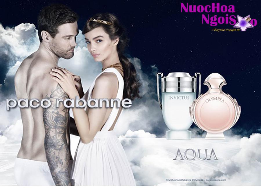 Nước hoa nam Invictus Aqua