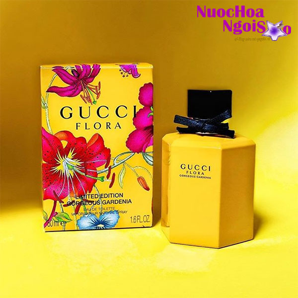 Nước hoa nữ Gucci Flora Gorgeous Gardenia Limited Edition 2018