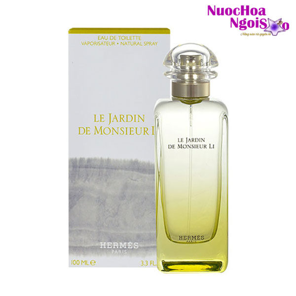 Nước hoa Unisex Hermes Le Jardin de Monsieur Li Unisex