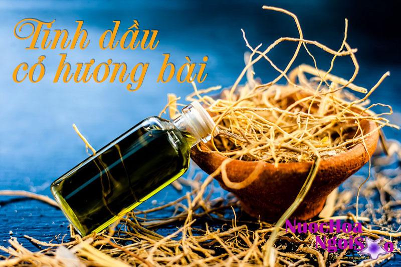 Tinh dầu cỏ hương bài giúp nước hoa lưu hương lâu