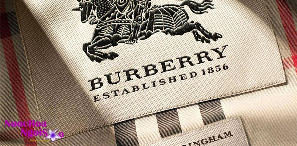 Hãng nước hoa Burberry – Hãng thời trang Anh quốc danh tiếng