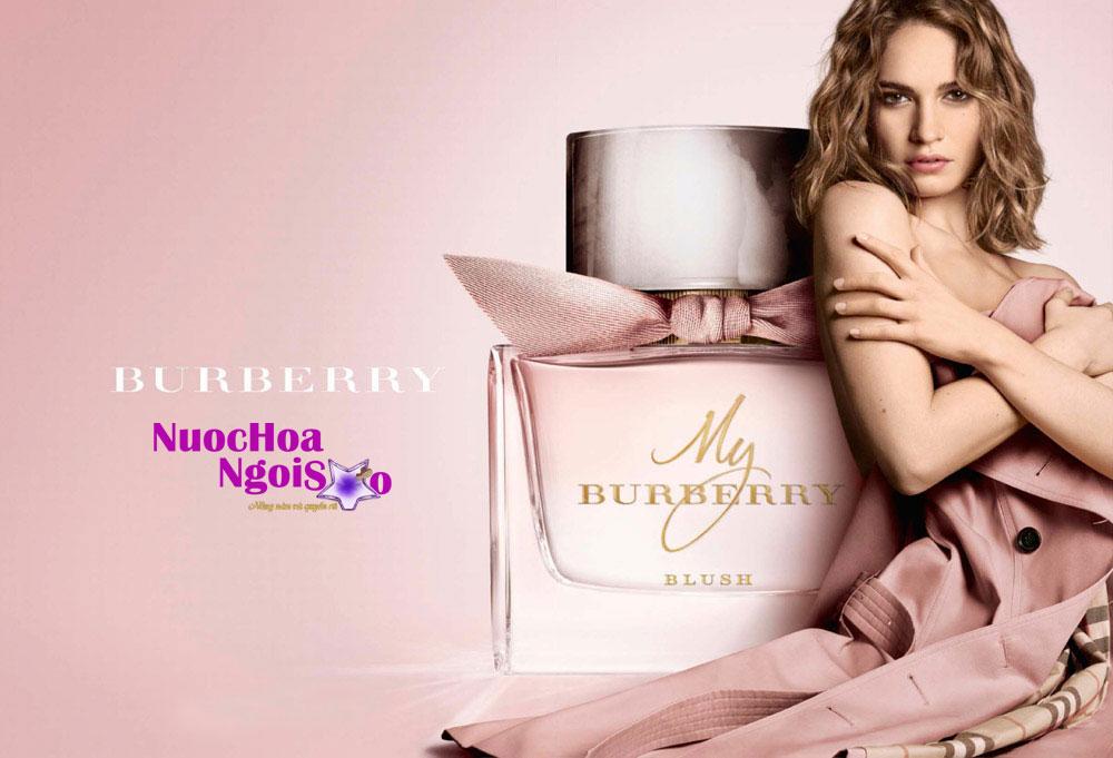 Tất cả các dòng nước hoa của Burberry đều mang phong cách quý phái
