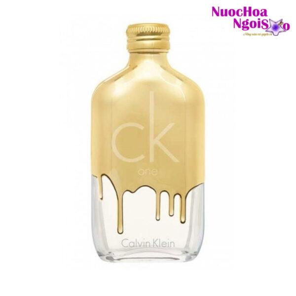 Nước hoa Unisex Ck One Gold