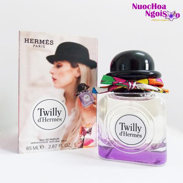 Nước hoa nữ TWILLY D'Hermès tím