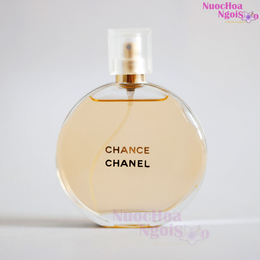 Nước hoa nữ Chance Chanel vàng