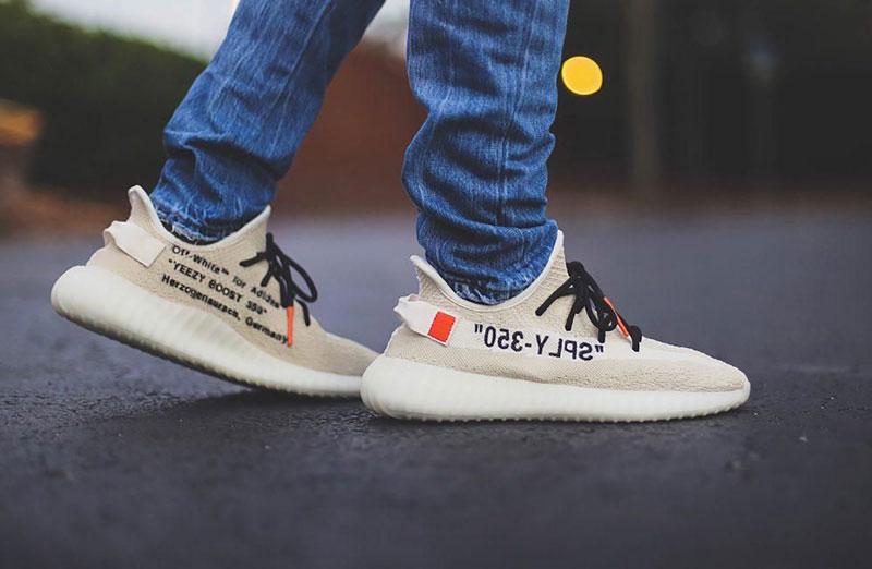 Giày Adidas Yeezy 350 V2 Off White