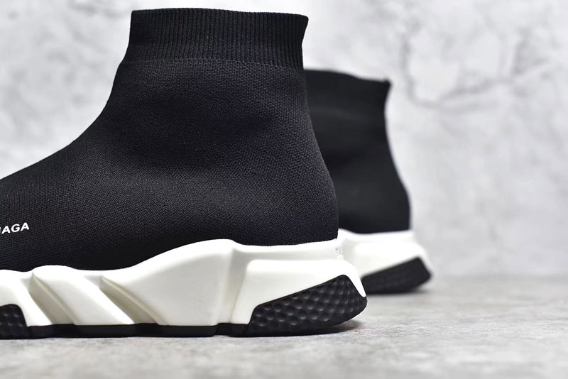 Giày Balenciaga Speed Trainer black white