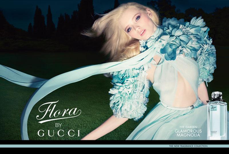 Nước hoa nữ Flora by Gucci Glamorous Magnolia của hãng GUCCI
