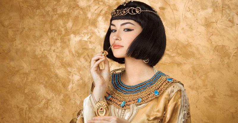 Nữ hoàng Cleopatra (ảnh sưu tầm)