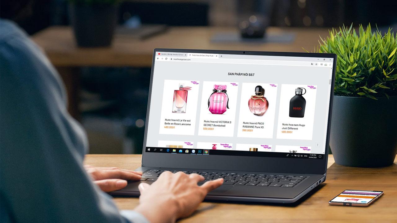 Hướng dẫn cách mua hàng tại shop nước hoa online