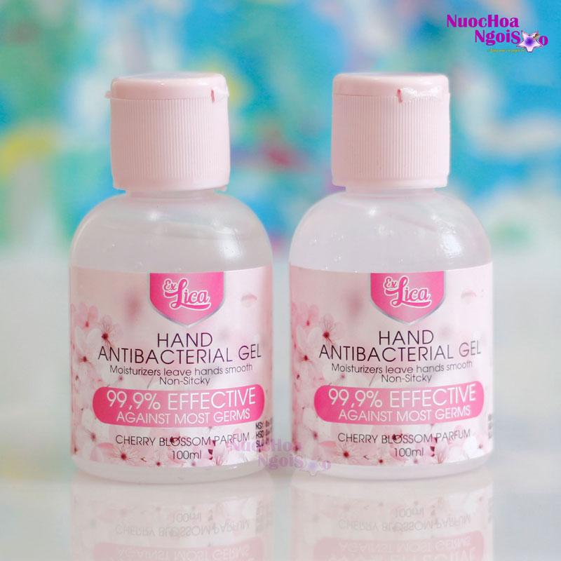Gel rửa tay khô kháng khuẩn Exlica