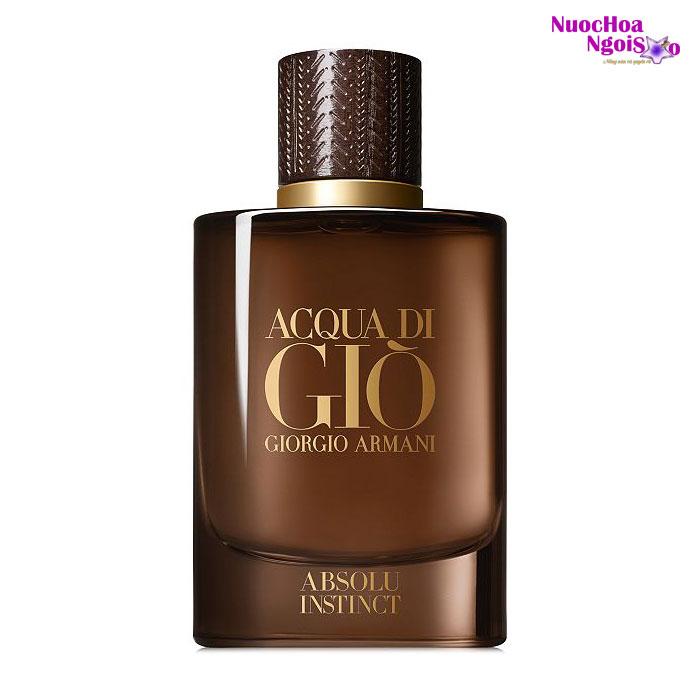 Nước hoa nam Acqua di Giò Absolu Instinct của hãng GIORGIO ARMANI