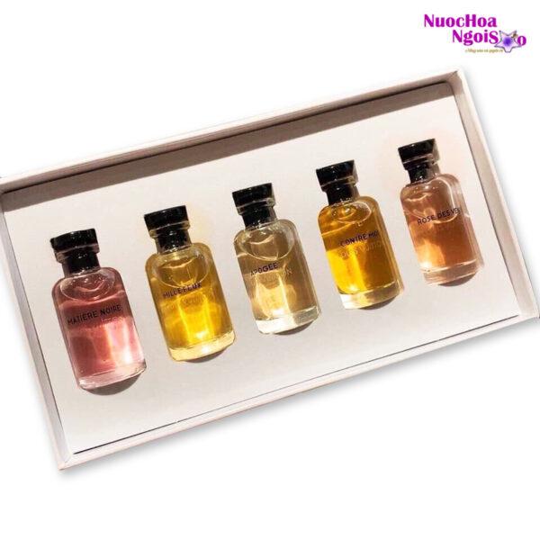 Set 5 chai nước hoa LV dành cho nữ