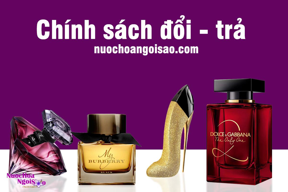 Chính sách đổi - trả sản phẩm khi mua hàng tại Shop nuochoangoisao.com
