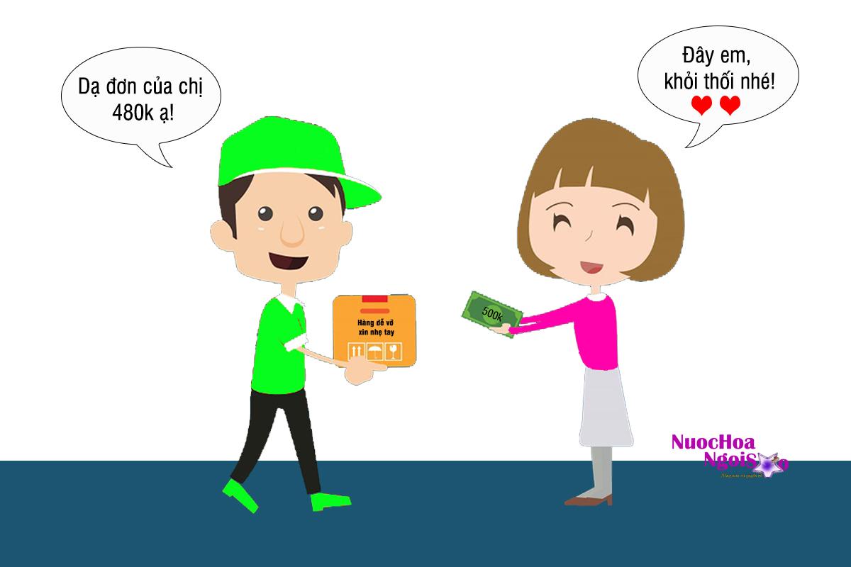 Phương thức thanh toán khi mua trực tuyến tại Shop nuochoangoisao.com
