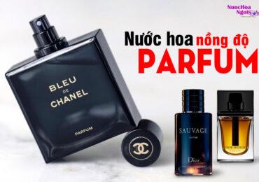 Nước hoa nồng độ Parfume