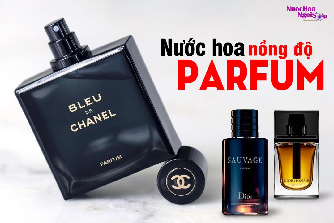 Nước hoa nồng độ Parfum