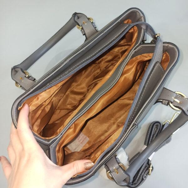 Túi xách nữ công sở Quảng Châu màu xám đẹp