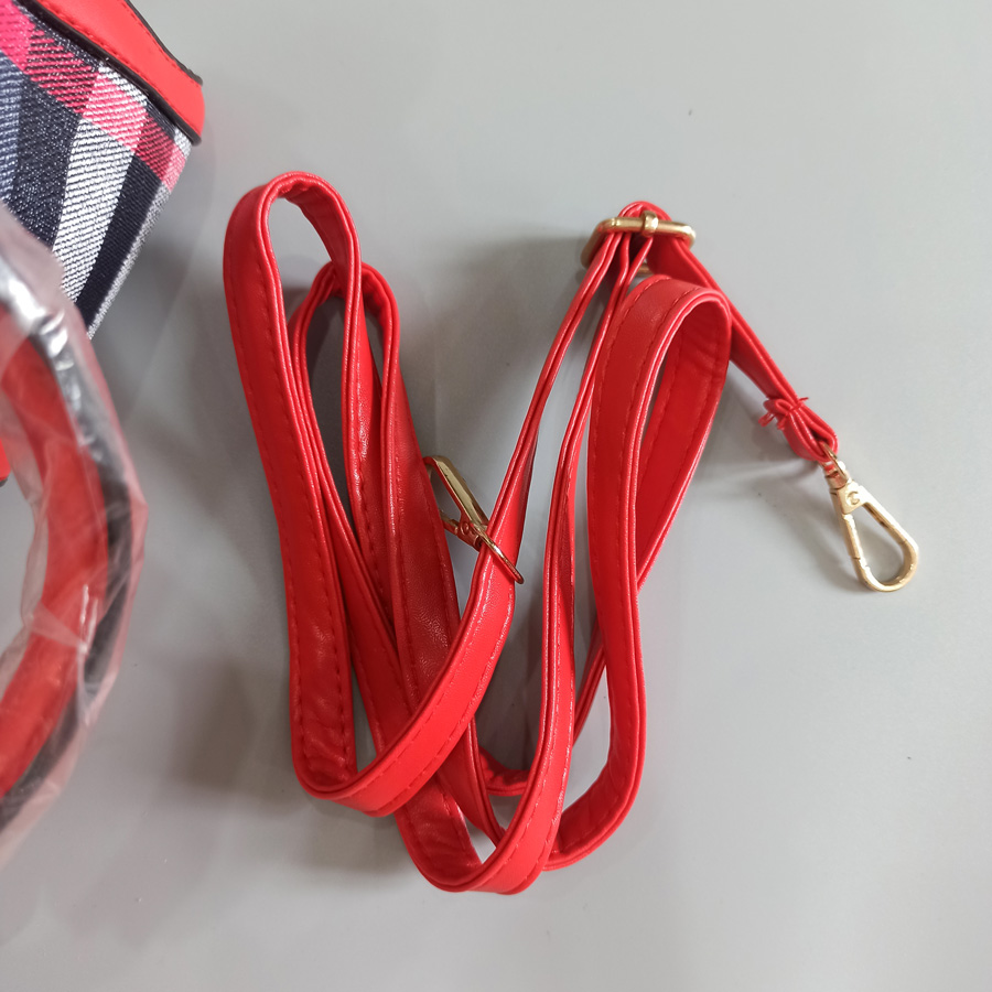 Túi xách nữ Quảng Châu sọc sang trọng - Túi xách nữ công sở Quảng Châu