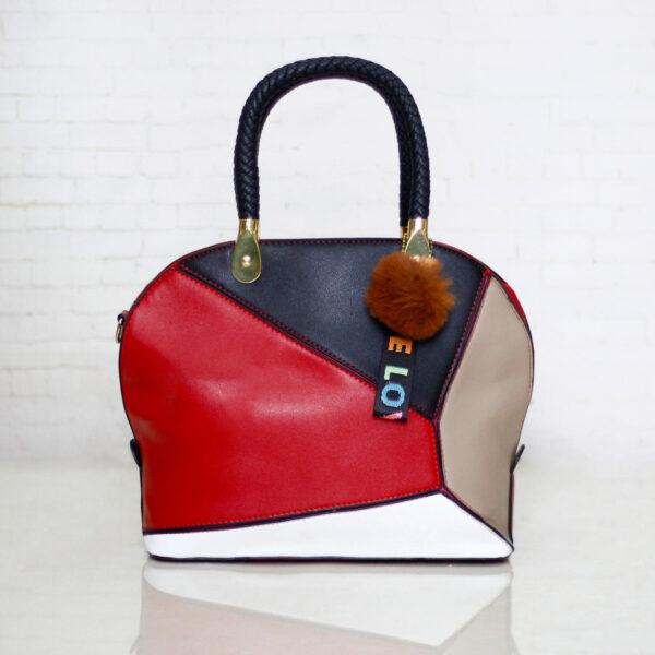 Túi xách nữ công sở phối màu - Túi xách Quảng Châu