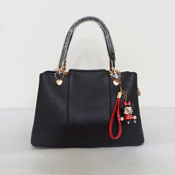 Túi xách nữ công sở màu đen chất da đẹp