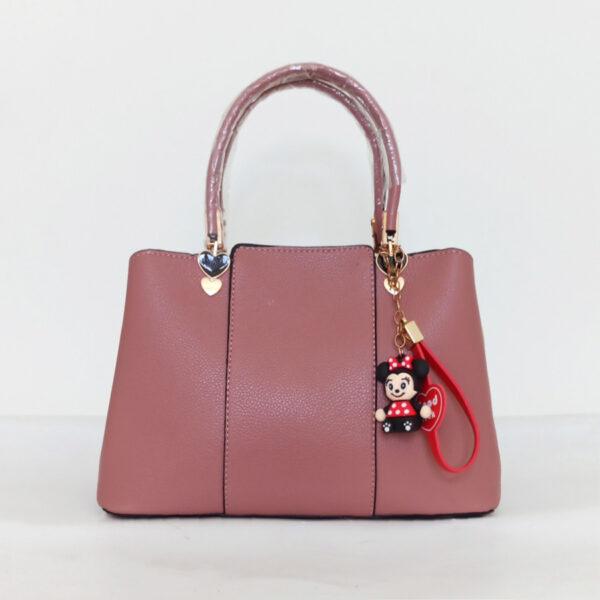 Túi xách nữ công sở màu hồng chất da đẹp